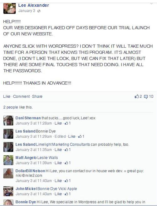 Testimonial-FB-Lee Alexander3 500w